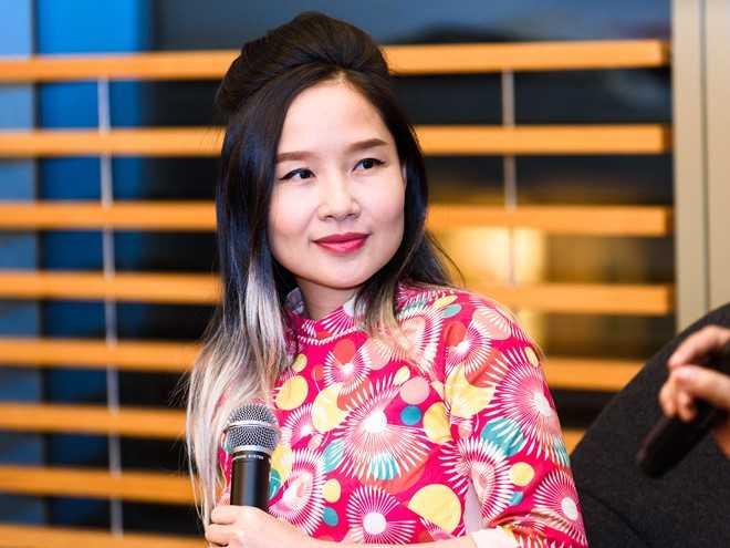 Mai Khôi quan tâm đến vấn đề nạn bạo lực gia đình, bất bình đẳng giới và tạo môi trường hoạt động nghệ thuật lành mạnh. Ảnh: Nguyễn Bá Ngọc