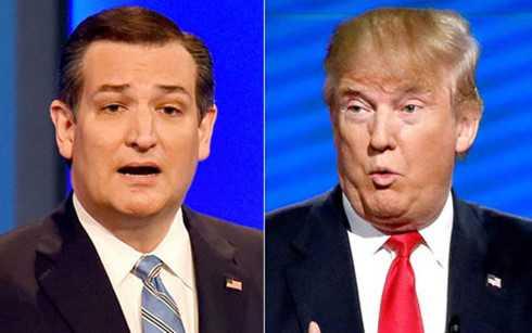 Ứng viên Ted Cruz tố Donald Trump đứng sau bài báo cáo buộc ông lừa dối vợ