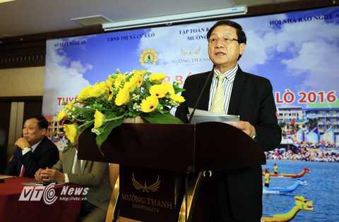 Ông Lê Minh Thông, phó chủ tịch UBND tỉnh Nghệ An, tin tưởng du lịch sẽ đóng vai trò mũi nhọn trong quá trình thúc đẩy sự phát triển kinh tế