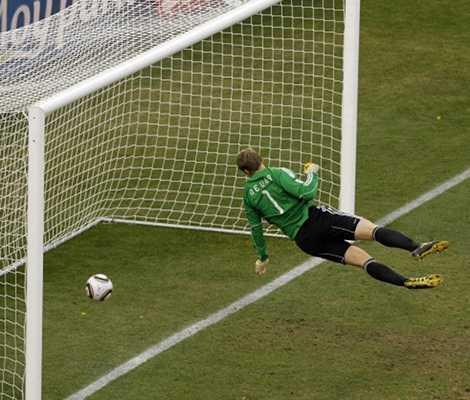 Đội tuyển Anh bị từ chối một bàn thắng hợp lệ