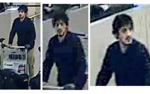 Hình ảnh của Najim Laachraoui do camera an ninh ở sân bay Zaventem ghi lại