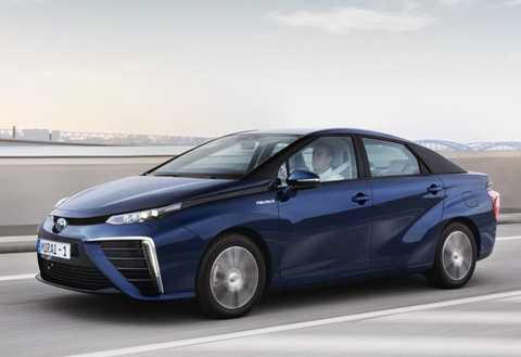 Mẫu xe chạy bằng nhiên liệu hydro của Toyota không phải là cái tên hoàn toàn mới