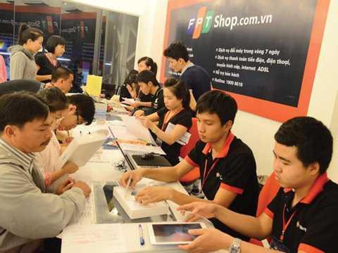 FPT Shop đã trở thành hệ thống bán lẻ lớn thứ 2 tại Việt Nam