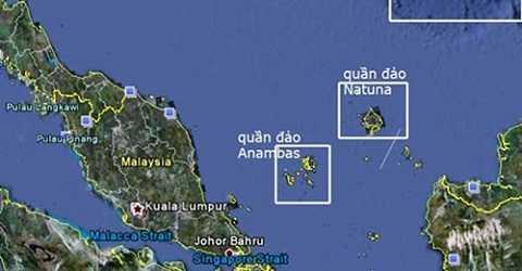 Quần đảo Natuna. Ảnh: T.L