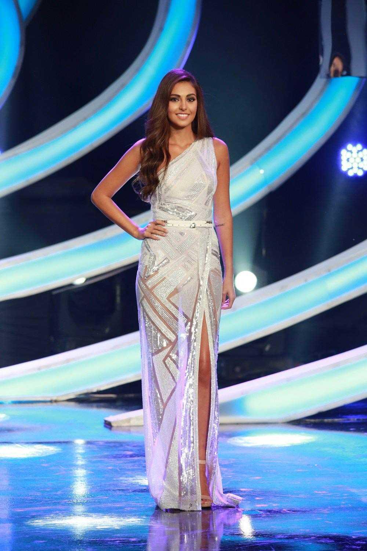 Hoa hậu Lebanon Valerie Abou Chacra xếp ở vị trí thứ 2