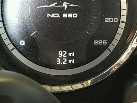 Trong toàn bộ các chi tiết trên xe,   đắt giá nhất là khối động cơ V8 4.6l, có giá 203.385 USD (tương đương   4,53 tỷ đồng). Ngoài ra, hộp số của chiếc xe cũng có giá lên tới 70.000   USD (1,56 tỷ đồng).