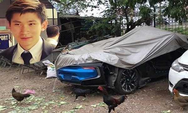 Những hình ảnh mới nhất về chiếc siêu xe BMW i8 xanh ngọc trị giá 7 tỷ đồng của một thiếu gia 19 tuổi khiến nhiều người không khỏi ngỡ ngàng. Thay vì được nằm trong gara sạch sẽ, hoành tráng, chiếc xe