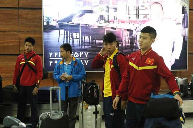 Tuyển Việt Nam đến Iran