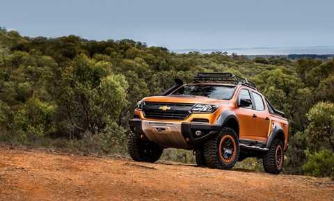 Chevrolet Colorado Xtreme xuất hiện với mức giá từ 31.000 USD tại thị trường Thái Lan