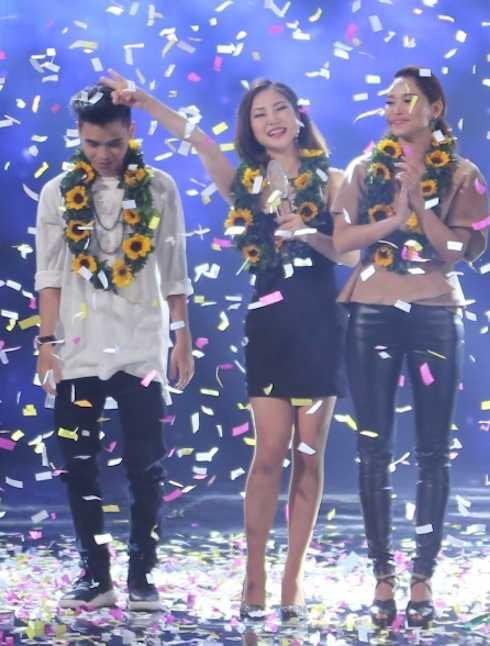 Hương Tràm giành giải Vàng The Remix mùa 2.