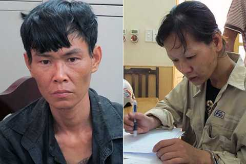 Vợ chồng Dương Minh Nhất và Trần Thị Hồng Vân