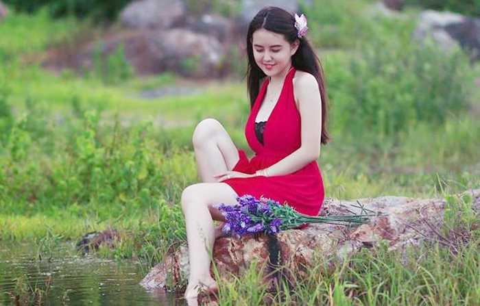 Thần tượng của cô bạn là danh hài Hoài Linh.