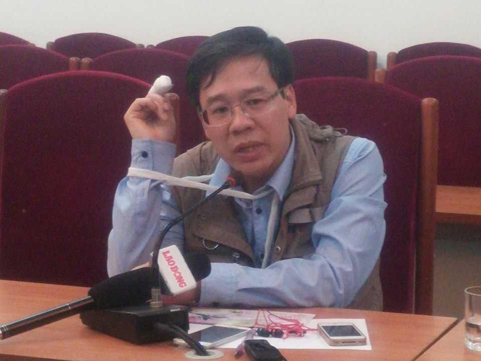 Nhà báo Đỗ Doãn Hoàng kể lại sự việc