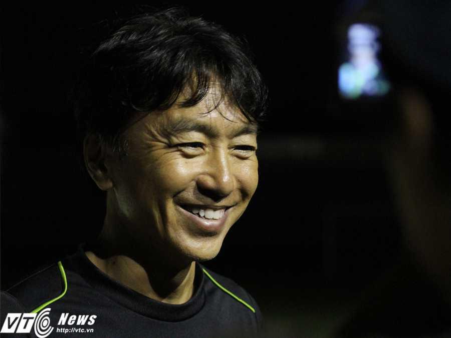 Nếu có theo dõi tuyển Việt Nam lúc này, ông Miura hẳn sẽ mãn nguyện vì những 'chân giá trị' của mình (Ảnh: Hoàng Tùng)