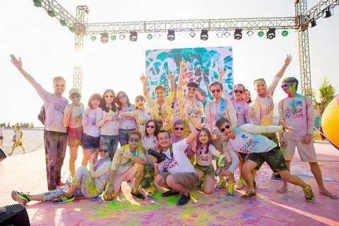 Hòa mình cùng lễ hội sắc màu Color Dream chất nhất vịnh Bắc Bộ 2016