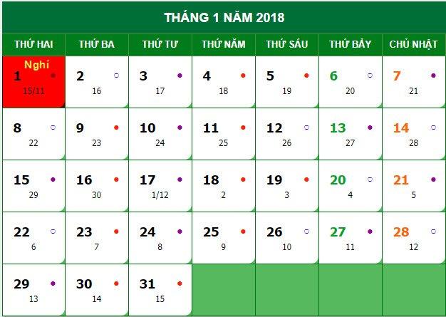 Lich nghi Tet Duong lich 2018 chinh thuc cua hoc sinh tai Ha Noi hinh anh 2