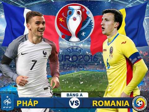 2h 11/6 truc tiep Phap – Romania: Khai hoi Euro 2016 hinh anh 1