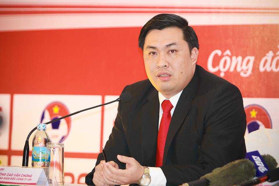 Tong giam doc VPF Cao Van Chong: Hanh dong cua CLB Long An tieu cuc, phan cam hinh anh 1