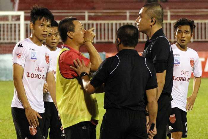 Tong thu ky VFF Le Hoai Anh: CLB Long An da di nguoc lai ton chi bong da hinh anh 1