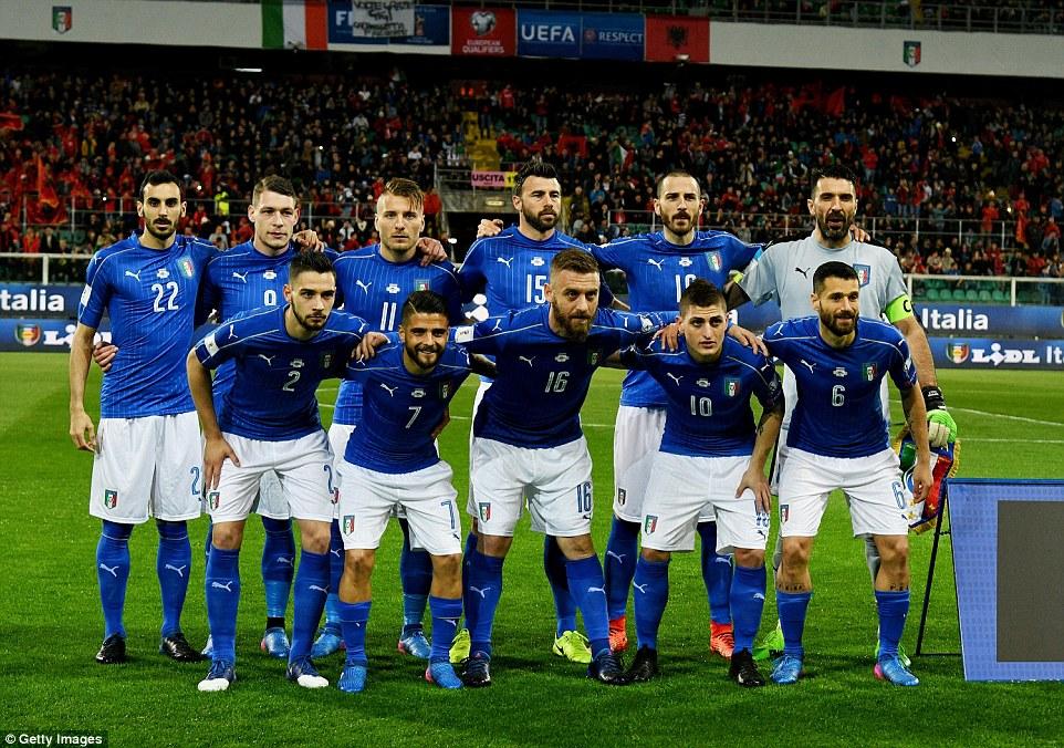 Video ket qua Italia vs Albania: Buffon giu sach luoi o tran dau 1000 hinh anh 2