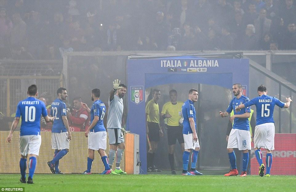 Video ket qua Italia vs Albania: Buffon giu sach luoi o tran dau 1000 hinh anh 7