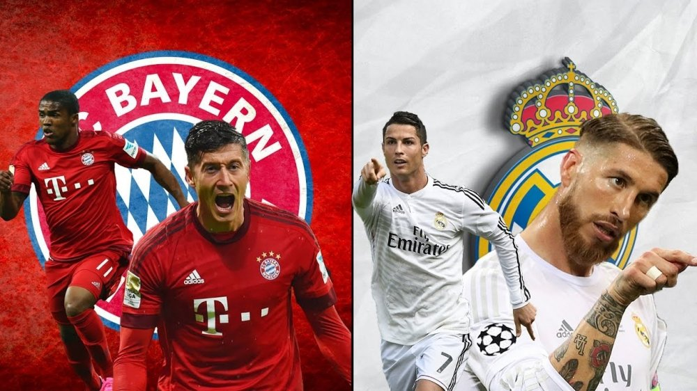 Xem truc tiep tu ket luot di cup C1 Bayern Munich vs Real Madrid tren kenh nao? hinh anh 1