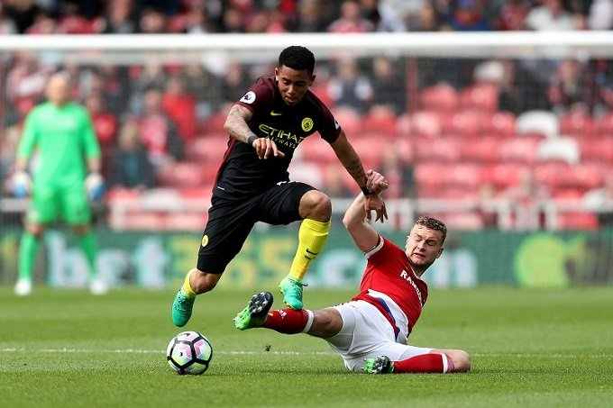Video ket qua tran Middlesbrough vs Man City: Man City hoa chat vat doi nhuoc tieu hinh anh 1