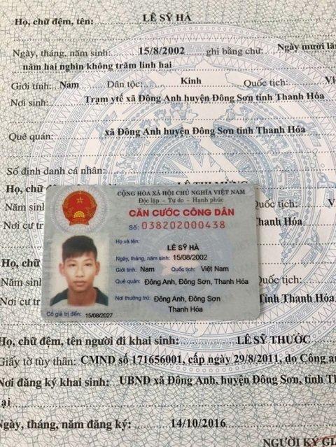 Cau thu U15 Ha Noi bi to gian lan tuoi: Cong an khang dinh sinh nam 2000 hinh anh 2