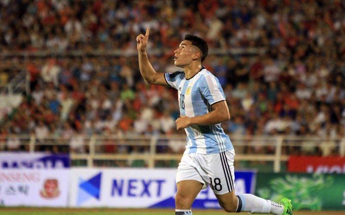 Video ket qua U20 Viet Nam vs U20 Argentina: Duc Chinh ghi ban, U20 Viet Nam van thua to hinh anh 1