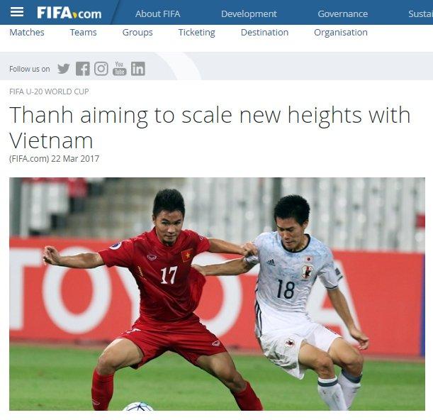 Tuyen thu U20 Viet Nam Tran Thanh: Tu vai phu thanh nguoi hung World Cup hinh anh 1