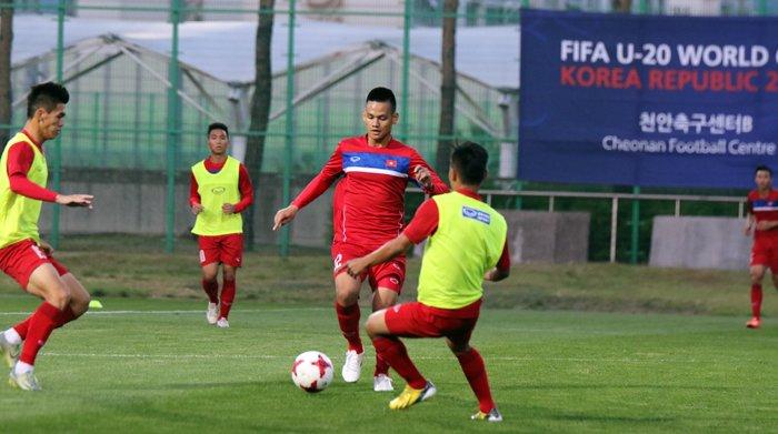 U20 Viet Nam toi dai ban doanh, chinh thuc hoa nhip World Cup U20 hinh anh 1