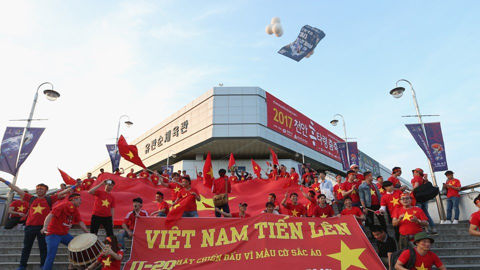 World Cup U20: Xuc dong hinh anh U20 Viet Nam 'chao the gioi' hinh anh 1