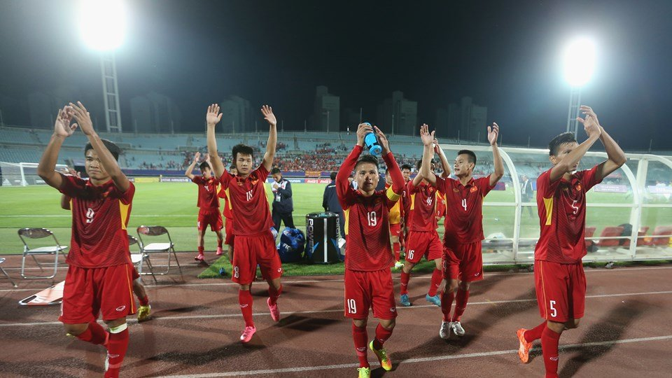World Cup U20: Xuc dong hinh anh U20 Viet Nam 'chao the gioi' hinh anh 14