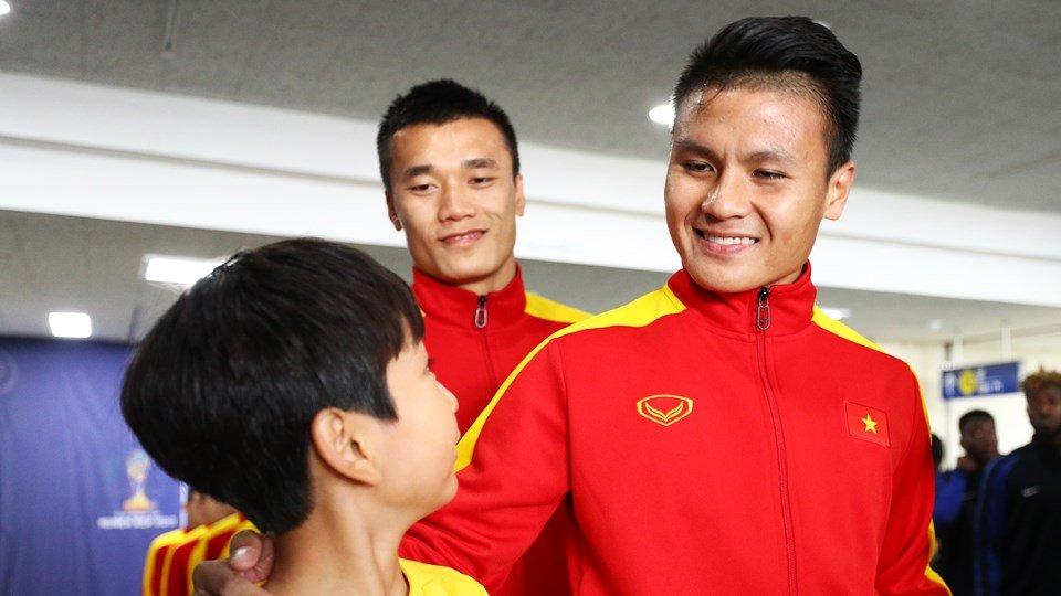Nu cuoi Quang Hai va niem tin gianh ve di tiep cua U20 Viet Nam hinh anh 1