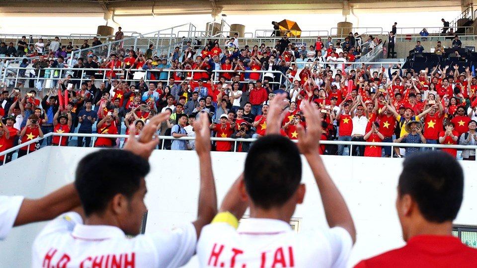 Nu cuoi Quang Hai va niem tin gianh ve di tiep cua U20 Viet Nam hinh anh 12