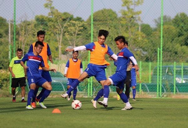 U20 Viet Nam tap trung cao do cho tran dau voi U20 Honduras hinh anh 1