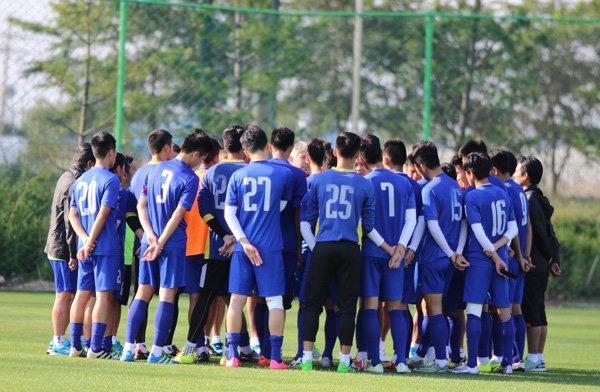 U20 Viet Nam tap trung cao do cho tran dau voi U20 Honduras hinh anh 2