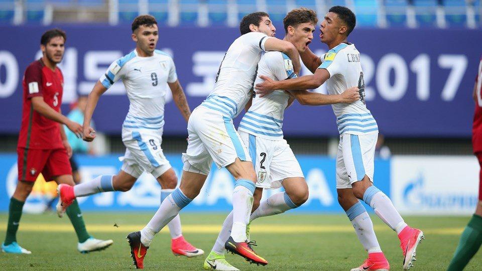 Ket qua U20 Bo Dao Nha vs U20 Uruguay: U20 Uruguay vao ban ket sau loat 'dau sung' kieu moi hinh anh 1
