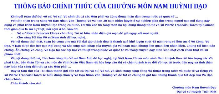 Chuong mon Nam Huynh Dao khang dinh noi cong 'truyen dien' khong phai gia tao hinh anh 1