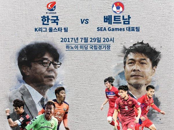 U22 Viet Nam vs Ngoi sao K-League: Thuoc thu hang nang hinh anh 1