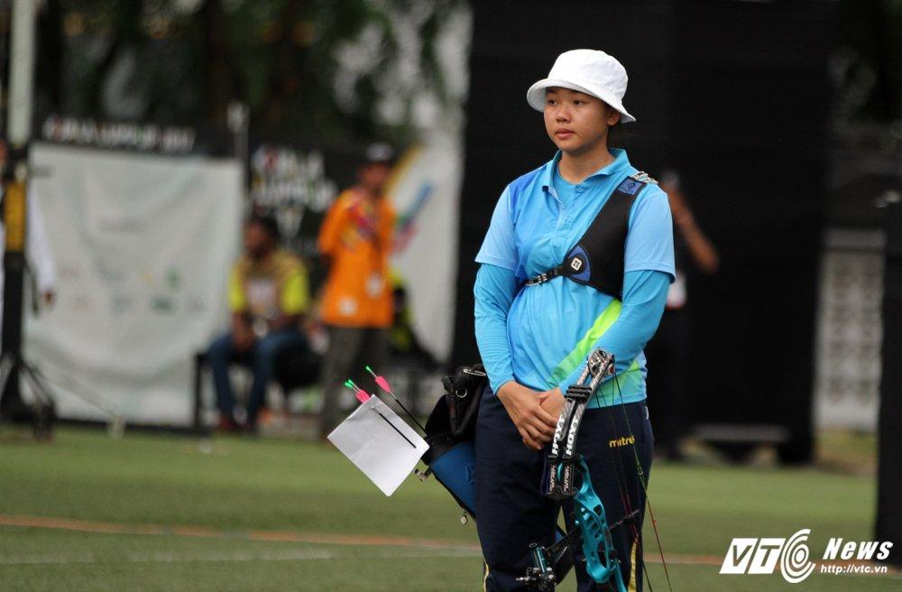 Cung thu Chau Kieu Oanh nen nuoc mat nhan huy chuong bac SEA Games hinh anh 3