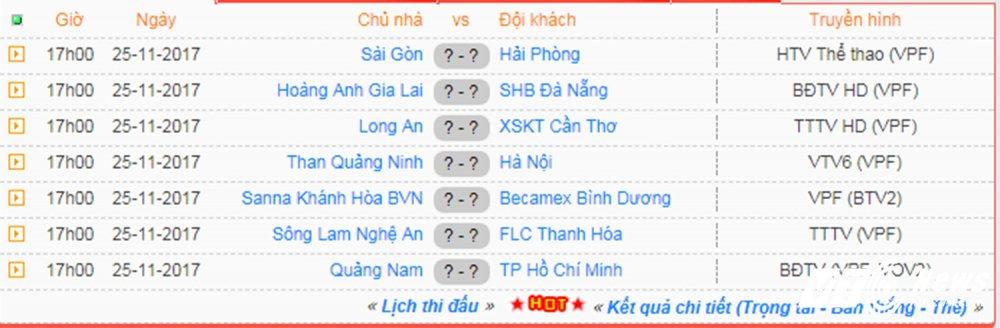 Video truc tiep Than Quang Ninh vs Ha Noi vong cuoi V-League 2017 hinh anh 1