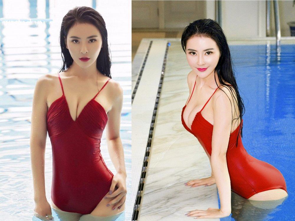Bong mat truoc ve dep ban gai tin don cua 'De nhat Thieu Lam' Yi Long hinh anh 7