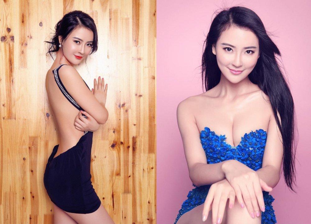 Bong mat truoc ve dep ban gai tin don cua 'De nhat Thieu Lam' Yi Long hinh anh 6