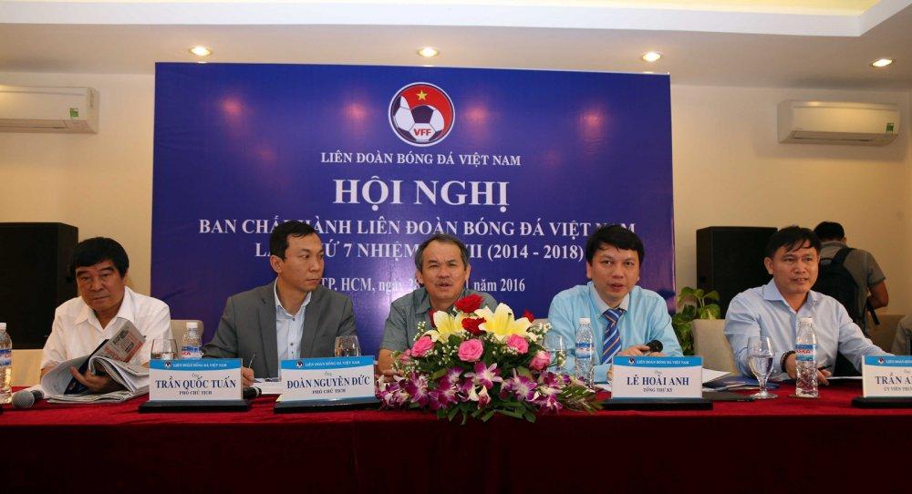 'Bau Duc nghi o VFF de dong gop nhieu hon cho bong da Viet Nam' hinh anh 1