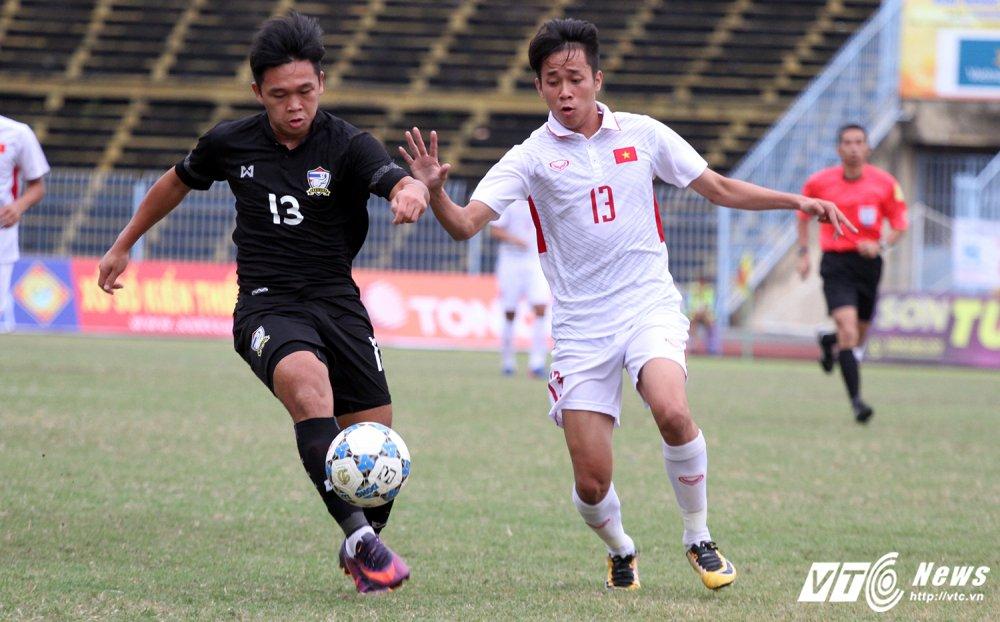Video truc tiep U19 Viet Nam vs U21 Thai Lan giai U21 quoc te 2017 hinh anh 3