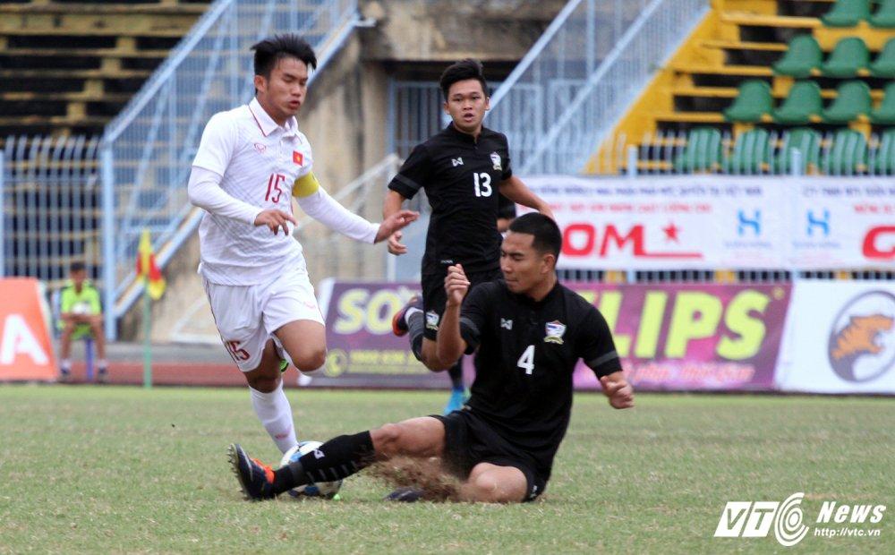 Video truc tiep U19 Viet Nam vs U21 Thai Lan giai U21 quoc te 2017 hinh anh 4
