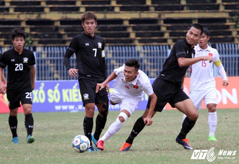 Video truc tiep U19 Viet Nam vs U21 Thai Lan giai U21 quoc te 2017 hinh anh 1