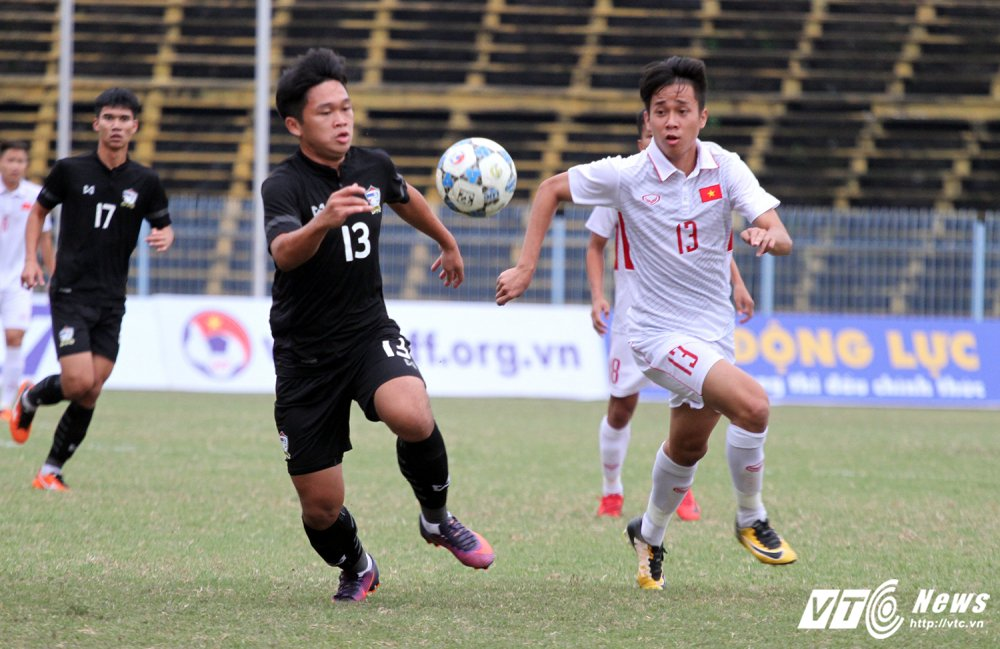 Video truc tiep U19 Viet Nam vs U21 Thai Lan giai U21 quoc te 2017 hinh anh 5