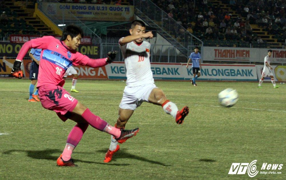 Truc tiep U21 Viet Nam vs U21 Yokohama chung ket giai U21 quoc te 2017 hinh anh 4